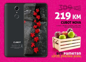 Cubot NOVA | 3GB+16GB |13+8 Mpx|Android 8.1 | Dual sim
