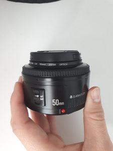 Objektiv 50 mm