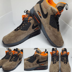 SNIZENO Patike NIKE Air Max 90 Sneakerboots WNTR Brown