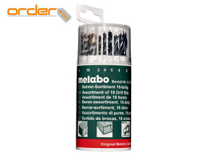 Metabo Garnitura Svrdala Za Drvo-Metal-Beton 3-10mm