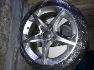 Opel astra h alu felge 5x110 18ke 18