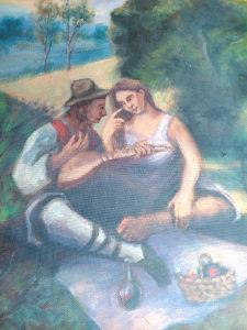 Slika Naiva ulje na platnu