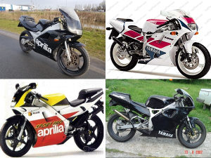 Kupujem:Aprilia RS/AF1 125/Yamaha TZR 125