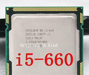 Intel® Core™ i5-660 Processor 4M Cache, 3.33 GHz