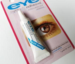 Ljepilo za umjetne trepavice Clear-White 7g