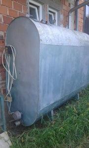 cisterna sa grijačom