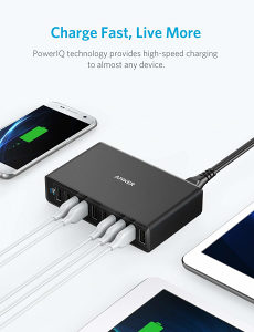 Anker 60W 10-Port USB Wall Charger, PowerPort 10