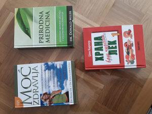 3 Knjige o zdravom načinu života