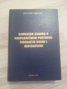 Komentar Zakona o vanparnicnom postupku