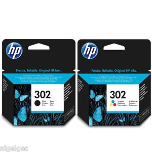 Ketridz/tinta HP 302 black i color KOMPLET
