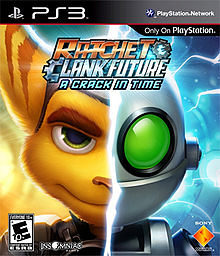 RATCHET AND CLANK THE FUTURE A CRACK IN TIME PS3