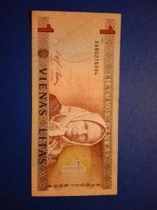 Novcanica Litva