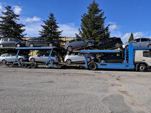 Opel Astra vozila u dolasku