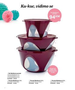 Tupperware zdjele i posude