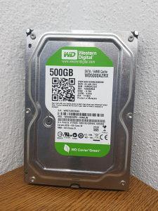 Hard disk sata 3 za racunar 500GB HDD