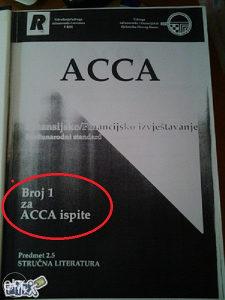 ACCA Finansijsko/ Financijsko izvještavanje