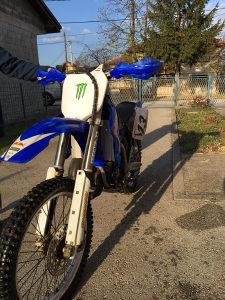 Yamaha full cross 125