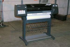 HP designjet 1055cm ploter