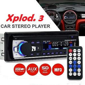 Auto radio Xplod 3 - MP3,FM radio,USB,SD,Aux,4x50w
