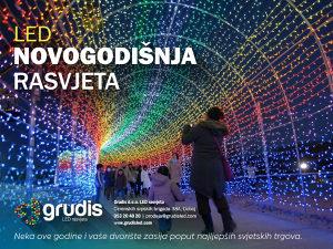 LED dekorativna novogodisnja rasvjeta