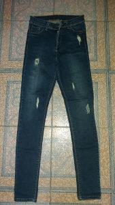 Elastin duboke hlače S