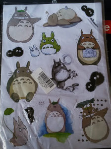 Anime/Manga Dragon Ball i My Neighbor Totoro naljepnice