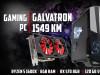 Gaming PC Galvatron; Ryzen 5 1600X; 8GB DDR4; RX 570