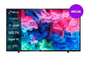 "Philips 4K 43"" UltraHD TV Smart 43PUS6503 WiFi PUS6503"