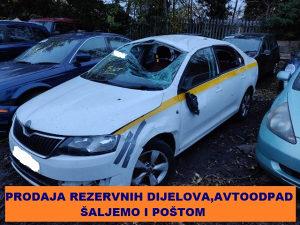 Škoda Rapid 1.6 TDI Ambition , GODINE 2014, DIJELOVI