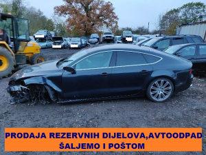 Audi A7 Sportback 3.0 TDI Multitronic, G2012, DIJELOVI