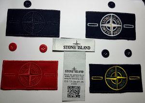 Stone Island originalni prisivaci sa etiketama HIT
