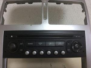 Autoradio/CD Radio/Muzika Peugeot 307 2005. Facelift