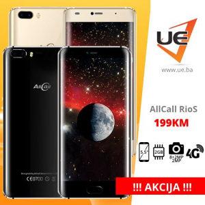 AllCall Smartphone Rio S Black/Gold