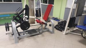 fitness oprema - nozna presa