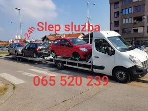 """Šlep služba, """"prevoz vozila"""" u zemlji i uvoz iz EU i CH"""