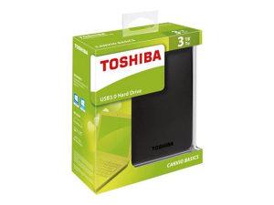 "EXT.HDD 3TB TOSHIBA Canvio Basics, USB3.0 2,5"""