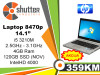 Laptop HP 8470p i5 3.Generacija SSD 120GB