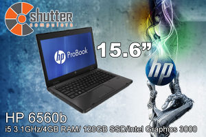Laptop HP ProBook 6560b i5 2.Gen 15.6 SSD 120GB