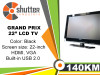 Monitor TV Granprix LT239HD 22