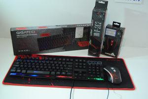 Gaming set 2 : Tastatura / mis i podloga - NOVO