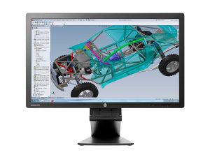 "Monitor HP EliteDisplay E271 , D7Z72AA 27"" - INFOCOM"