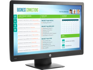 "Monitor HP ProDisplay P223 , X7R61AA 21,5"" LED"