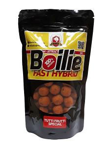 M Baits FAST HYBRID BOILIE 300g 14mm - PLUM SHELLFISH