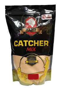 M Baits CATCHER MIX 1kg - STRAWBERRY JAM
