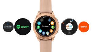 Samsung watch r810 42mm rose gold
