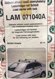 Nosači za automobil Škoda Oktavija