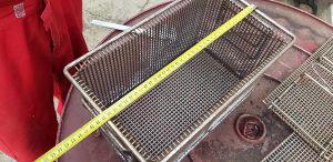 inox korpa 37cm