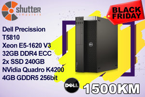 BLACK FRIDAY DELL PRECISSION T5810 Radna stanica