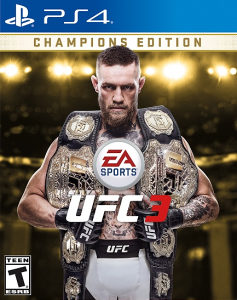 UFC 3 CHAMPIONS EDITION PS4 PlayStation 4