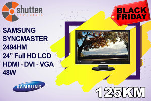 BLACK FRIDAY Samsung 2494HM - LCD HDMI 24""